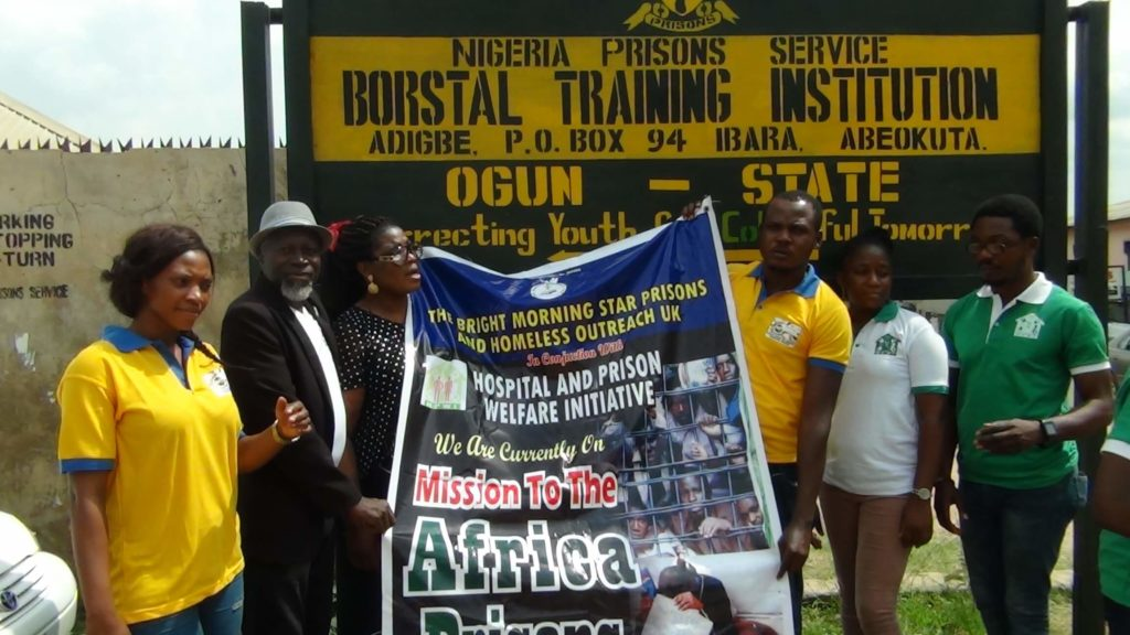 Prison Outreach in Nigeria